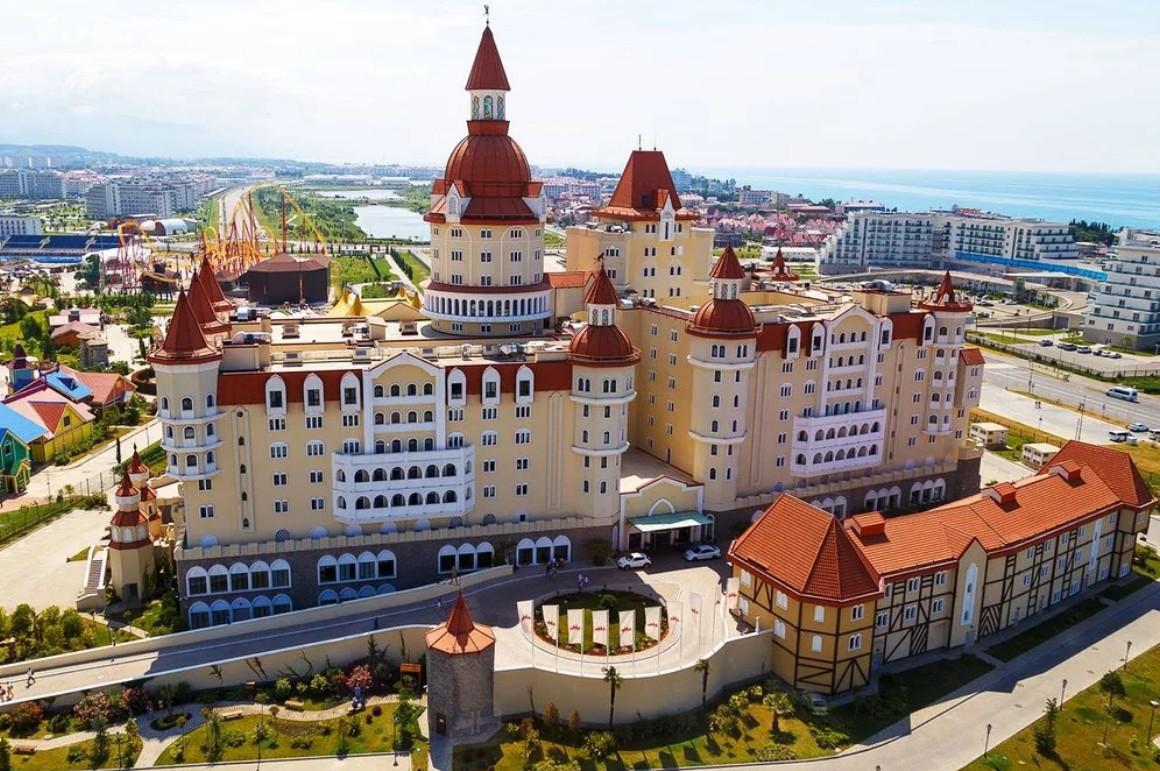 Отель «Богатырь» Сочи