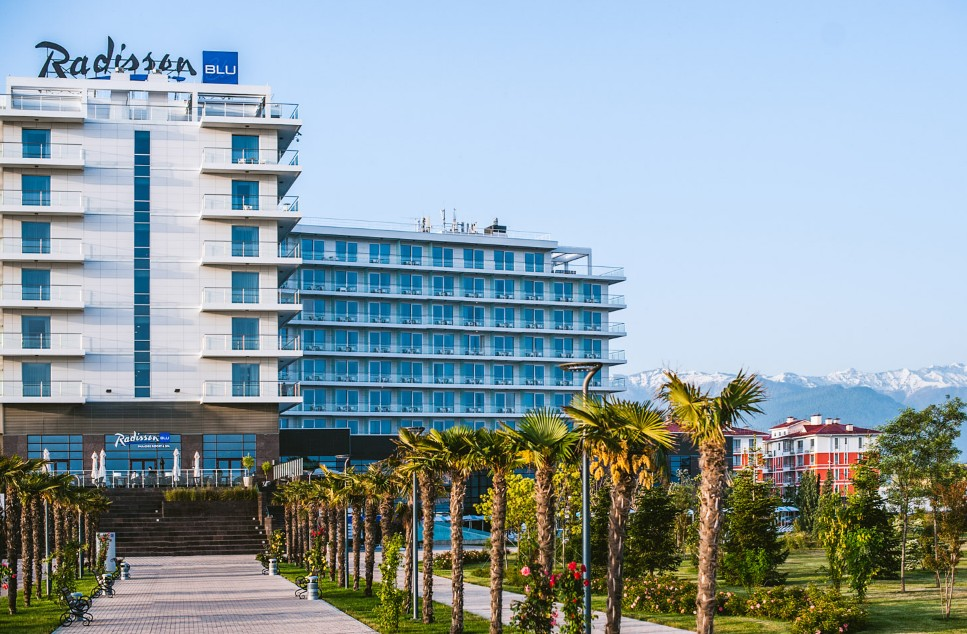 Отель Radisson Blu Paradise Resort Spa Sochi