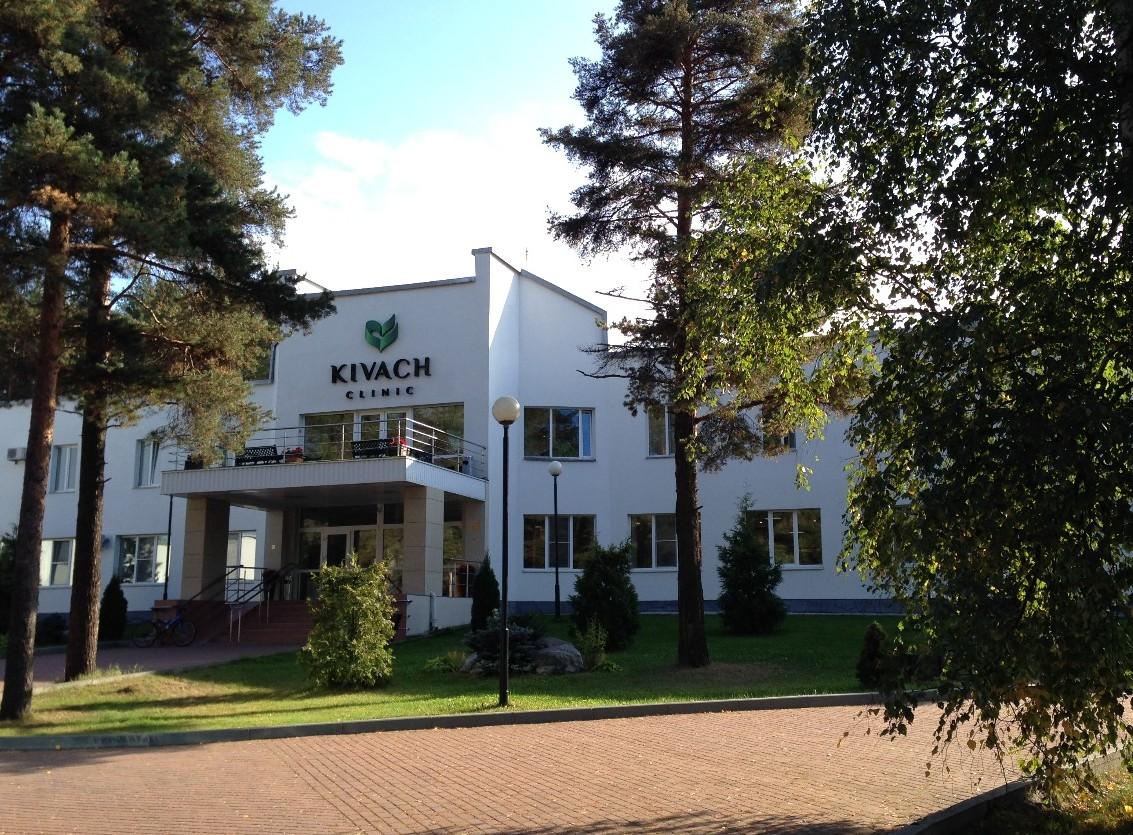 Санаторий Кивач Карелия